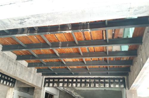 沈阳某公寓钢结构加固设计